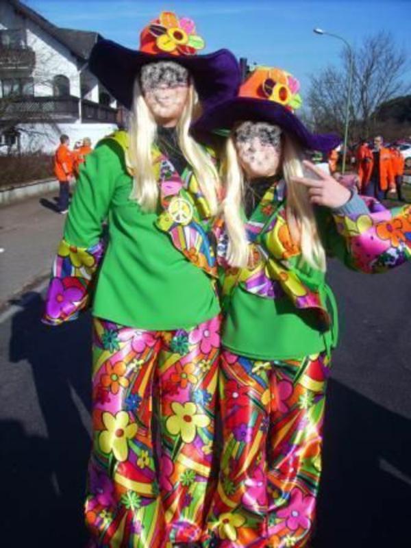 karneval fasching bunte kostüme