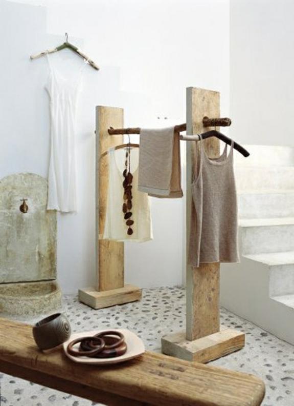 kleiderständer selber bauen bastelideen aus holz
