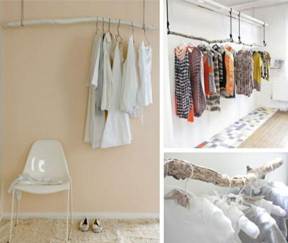 kleiderständer selber bauen - ersatz für den kleiderschrank,
