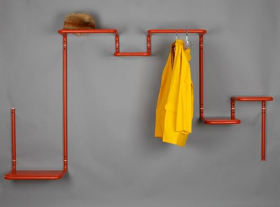 Hängeregal selber bauen  Kleiderständer selber bauen - Ersatz für den Kleiderschrank