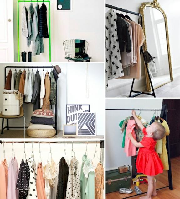 kreative bastelideen kleiderständer selber bauen