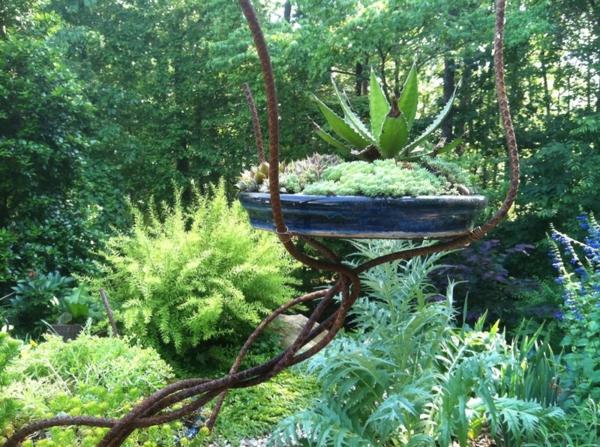 paisagem jardim ideias plantas verdes ideias de decoração