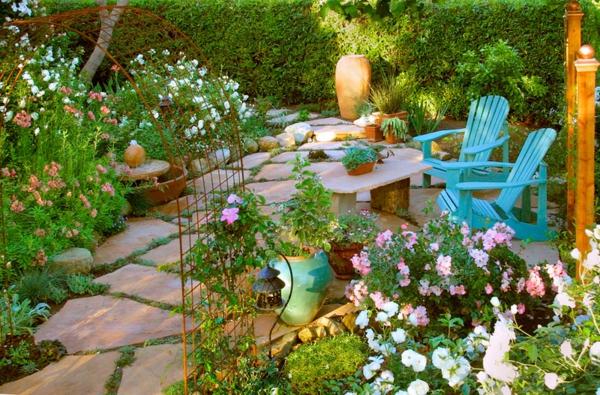 paisagem jardim ideias móveis de jardim