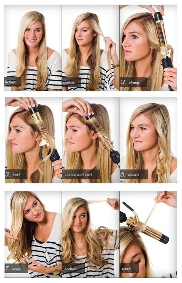 Frisuren F 252 R Lockiges Haar Trendy Lockenfrisuren Zum