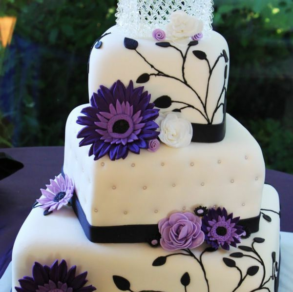 violett details hochzeitskuchen ideen natur
