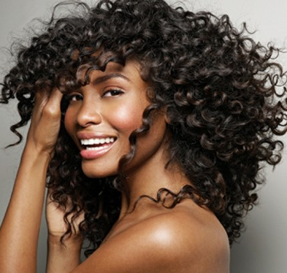 Afro locken frisur
