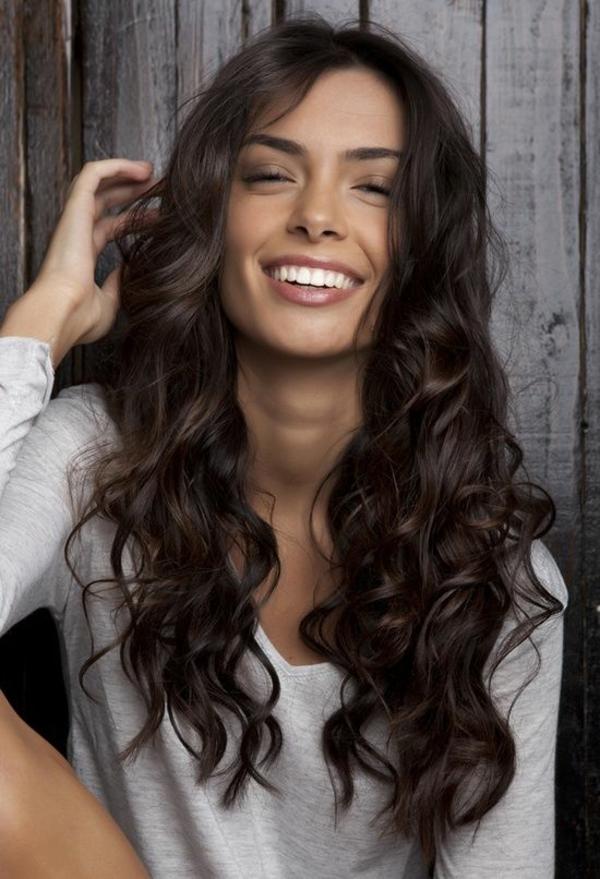 locken wellen haarstyling frisuren für lockiges haar locken wickeln