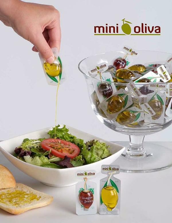 lustige  verpackungen olive