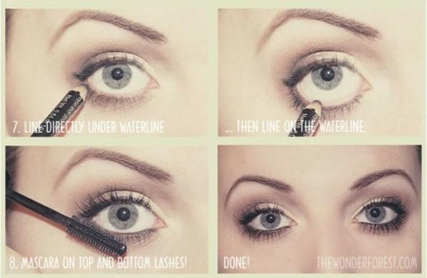 make-up trends smokey eyes neutral
