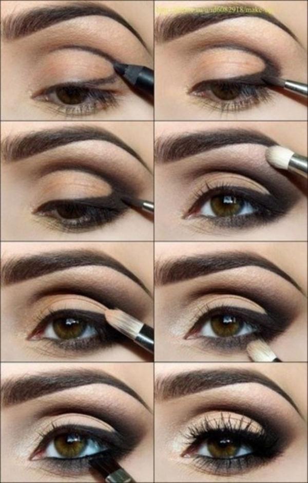 make-up trends smokey eyes schminken augen