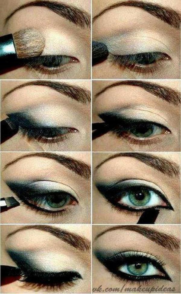 make-up trends smokey eyes schminken