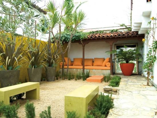 Mediterraner garten ist das ein erreichbares ziel auch in deutschland - Mediterranean terrace design ideas ...