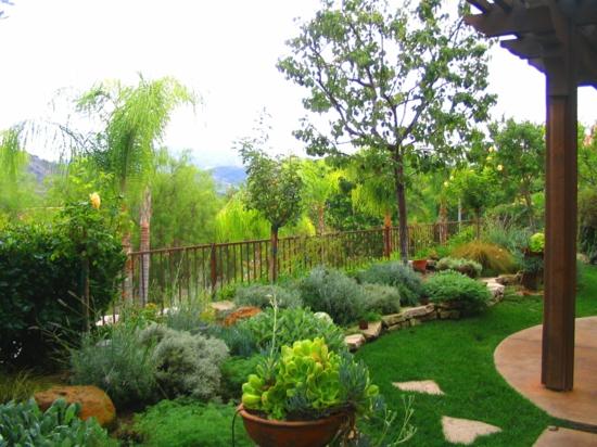 mediterrane pflanzen garten anlegen mittelmeer inspiration