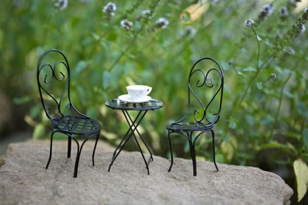 14 fabelhafte miniatur garten dekorieren sie mit phantasie - Miniatur gartenmobel ...