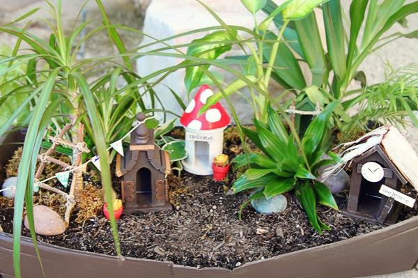 14 Fabelhafte Miniatur Garten Ideen U2013 Dekorieren Sie Mit Phantasie |  Dekoration ...