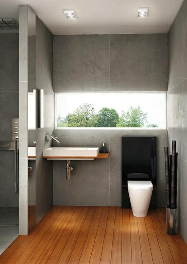 Minimalistische Badezimmer Ideen mit auffälliger Ästhetik