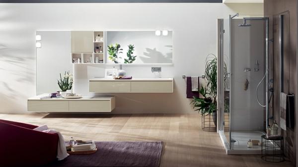 Minimalistische Badezimmer Waschbecken Unterschrank Spiegel 20 Exklusive  Minimalistische Badezimmer Ideen Mit Auffälliger Ästhetik ...