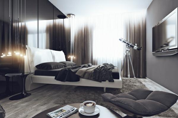 Modern Schlafzimmer Ideen Komplett Gardinen