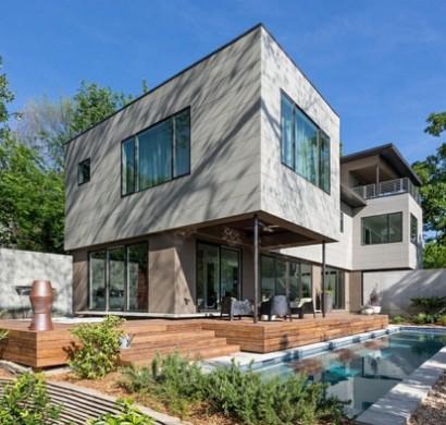Moderne architektur und umweltfreundliches design ein haus in atlanta - Moderne architektur hauser ...