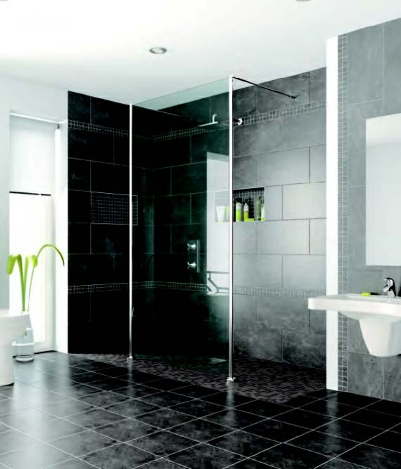 ebenerdige dusche modernit t und funktionalit t im badezimmer. Black Bedroom Furniture Sets. Home Design Ideas