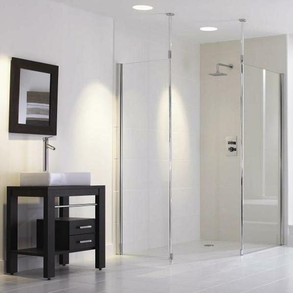 moderne badezimmer möbel ebenerdige dusche