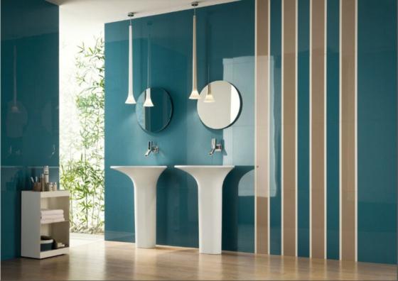 Wohnideen Wandfarben coole wohnideen mit streifen und kreisen
