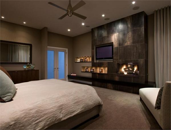 Wunderbar AuBergewohnlich Moderne Design Ideen Schlafzimmer Eingebaute Beleuchtung 25  Attraktive Ideen Für Schlafzimmergestaltung | Einrichtungsideen .