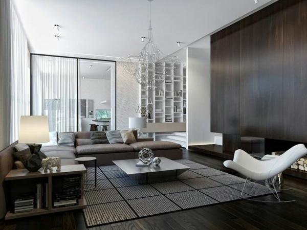 moderne ideen für inneneinrichtung wohnzimmer design