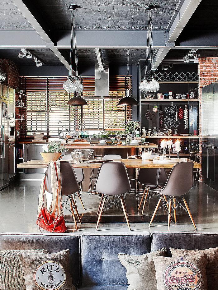 Innenarchitektur esszimmer  Moderne Innenarchitektur - ein beeindruckendes Apartment in Barcelona