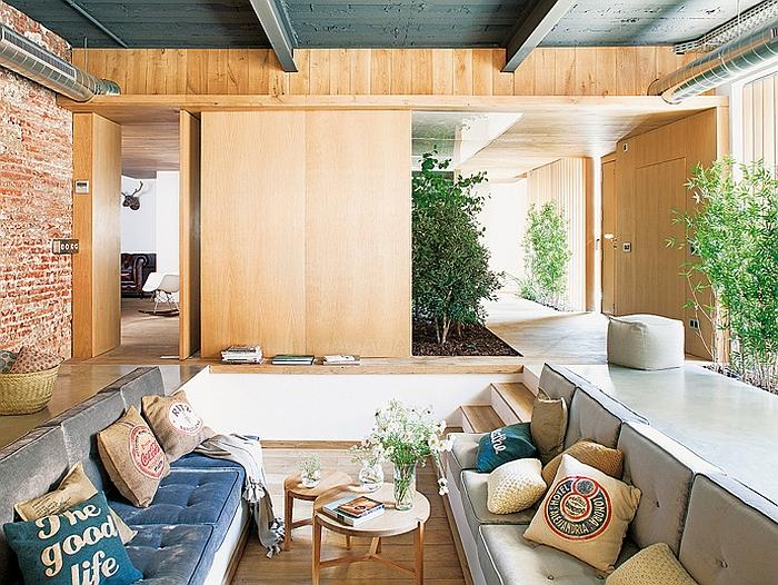 moderne innenarchitektur apartment barcelona wohnideen