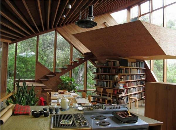 wohnzimmer regal ideen:Pin Wohnzimmer Bücherregale Modern Innendesign Interieur Ideen Deko