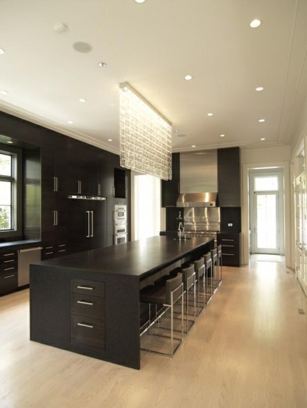 moderne küche kochinsel idee moderne Küche mit Kochinsel
