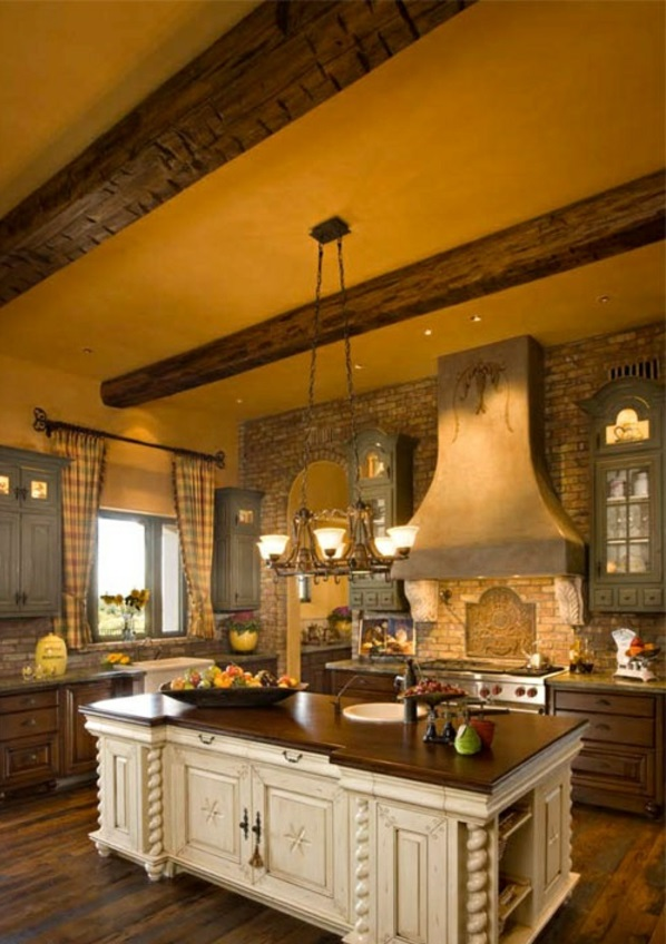 kochinsel idee einrichten moderne Küche mit Kochinsel