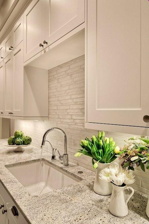 Moderne weiße Küchen hochglanz einrichten