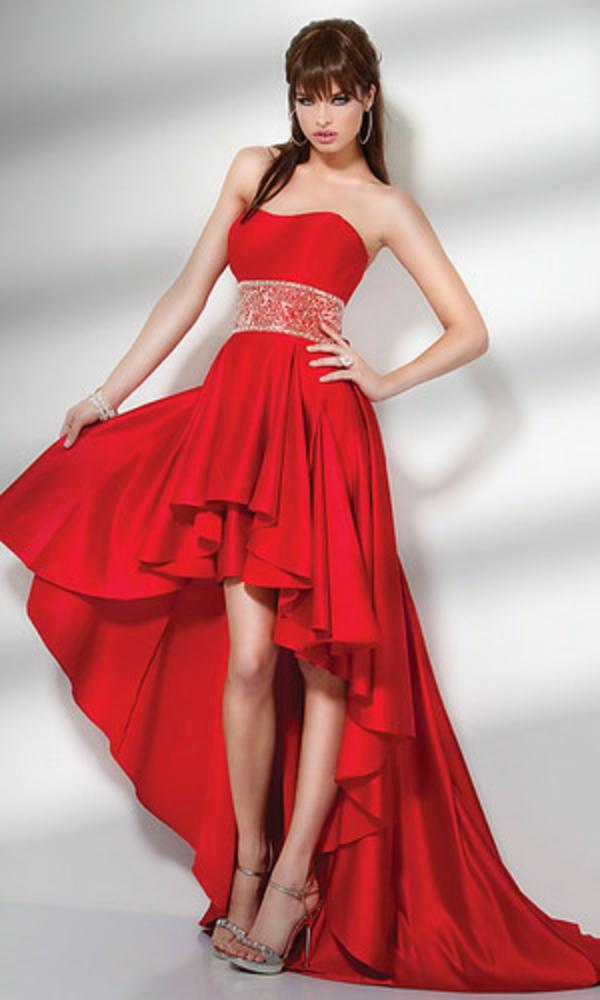 Rotes kleid lang hochzeit