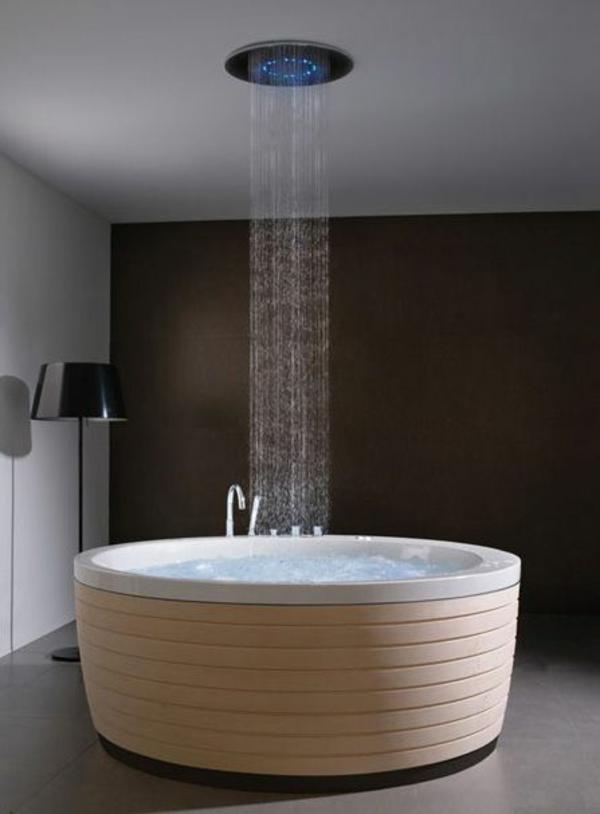 moderne freistehende wanne badewanne dusche 50 badezimmergestaltung ideen fr ihre innere balance - Bad Freistehende Badewanne Dusche