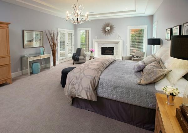 moderne schlafzimmer design ideen chinesische garten hocker