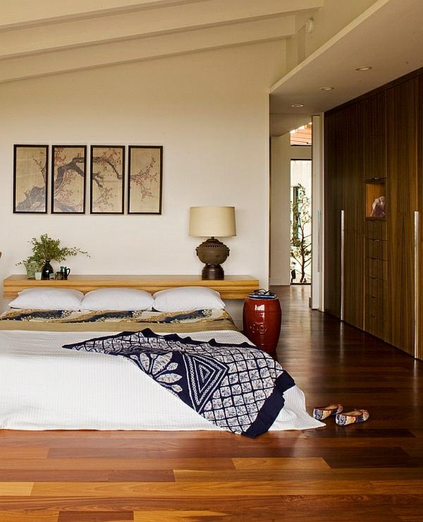 moderne schlafzimmerdesign chinesische garten hocker als nachttisch