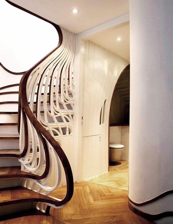 Treppen Wand Gestalten ~ Verschiedenes Interessantes Design Für, Wohnzimmer  Design
