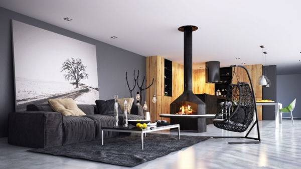 Wohneinrichtung  Moderne Wohneinrichtung Ideen - Trends 2014
