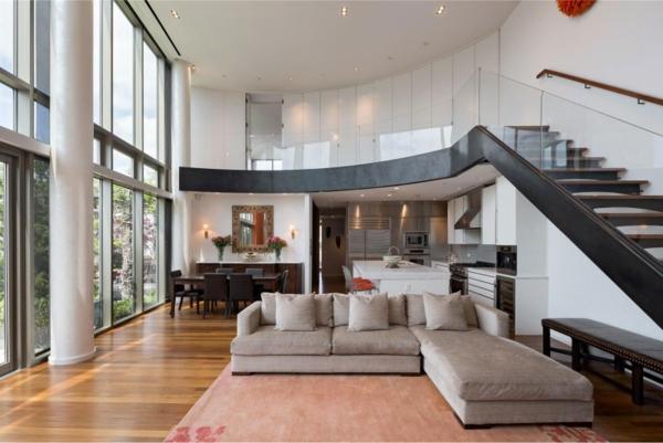 einrichtungsideen design treppe luftig design
