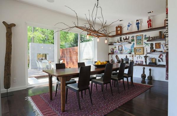 moderne wohnideen küchenideen esszimmer gestalten esstisch