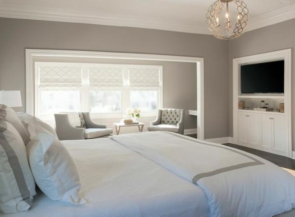 Schlafzimmer warme farben  Warme Wandfarben lassen Sie den Stress reduzieren