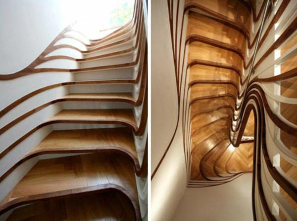 Treppenhaus modern gestalten  20 wunderbare Designideen für Treppenhaus