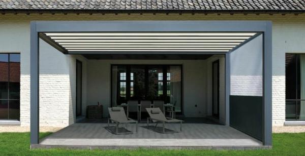 pergola-gartenlaube-konstruktion-hinterhof-stoff