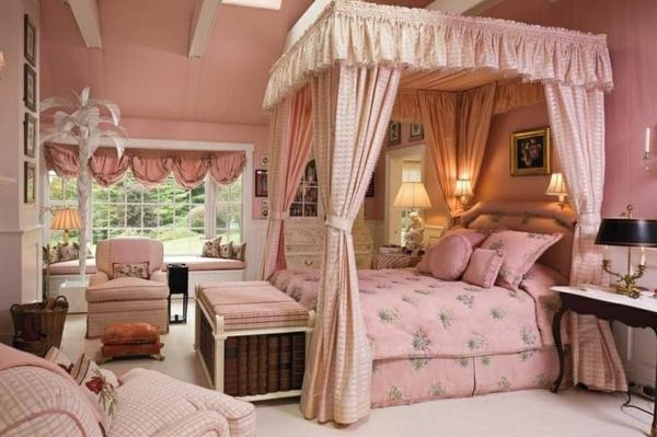 50 reizende schlafzimmergestaltung ideen for Prinzessin zimmer mobel
