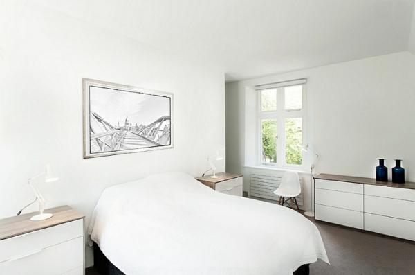 pur simpel weiß schlafzimmer komplett einrichten