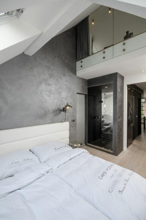 dachwohnung einrichten 35 inspirirende ideen. Black Bedroom Furniture Sets. Home Design Ideas