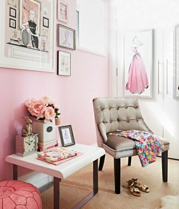 rosa farbgestaltung wie man mit rosa umgehen kann