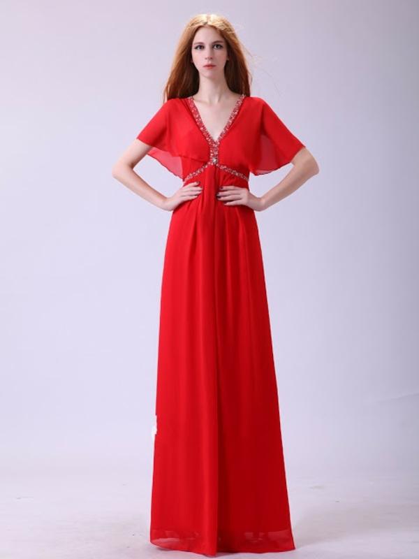 rotes kleid lang abendkleider